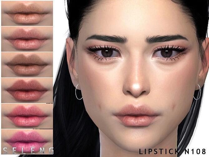 Sims 4 Lipstick N108 by Seleng at TSR