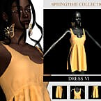 Springtime Collection Dress Vi By Viy Sims