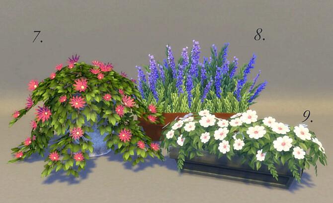 Sims 4 Sunny Balcony set by pocci at Garden Breeze Sims 4