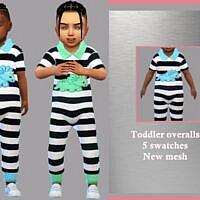 Toddler Overalls Arthur By Lyllyan