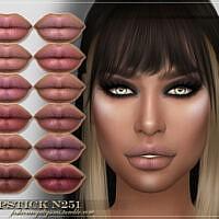 Frs Lipstick N251 By Fashionroyaltysims