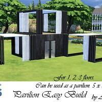 Pavilion Easy Build