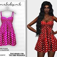 Polka Dot Dress Mc200 By Mermaladesimtr
