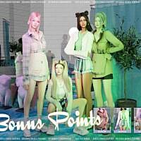 Bonus Points Clothes Pack