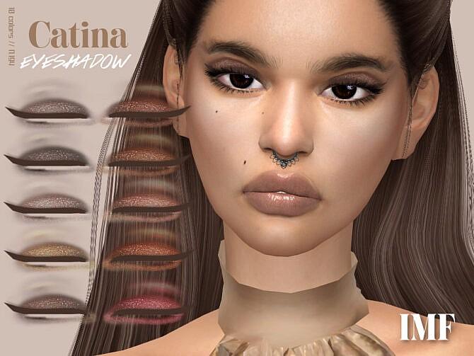 Sims 4 IMF Catina Eyeshadow N.194 by IzzieMcFire at TSR