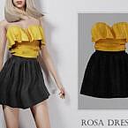 Rosa Dress By Turksimmer
