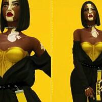 Dona Top & Bodysuit