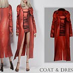 Formal Coat & Dress By Turksimmer
