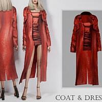 Formal Coat & Dress By Turksimmer