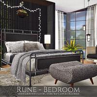 Rune Bedroom By Rirann
