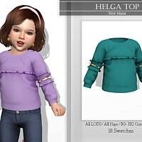 Helga Top By Katpurpura