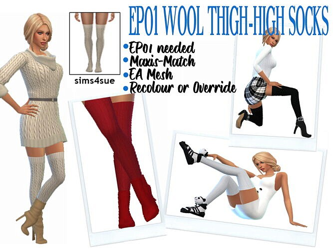 Ep01 Wool Thigh Highs