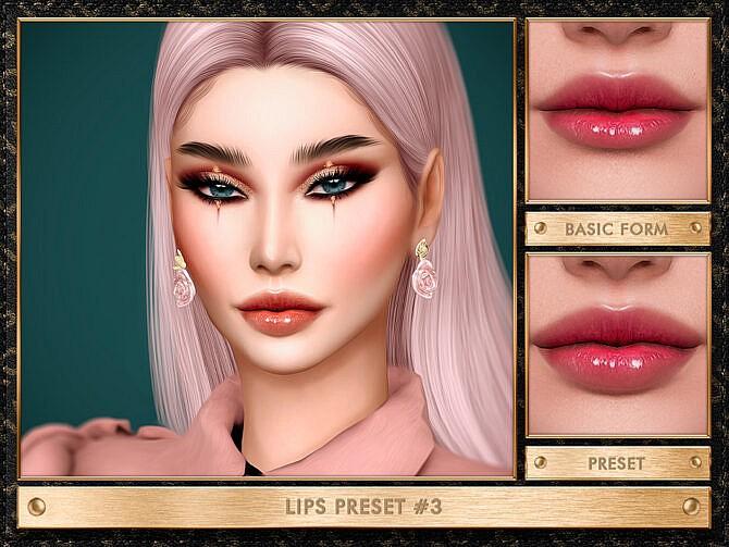 Sims 4 LIPS PRESET #7 by JUL HAOS at TSR