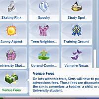 Venue Memberships And Lot Fees By Adeepindigo