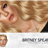 Britney Spears Facemask & Sim