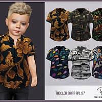 Shirt For Toddler Rpl97 By Robertaplobo