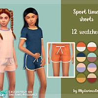 Sport Time Shorts By Mysteriousoo