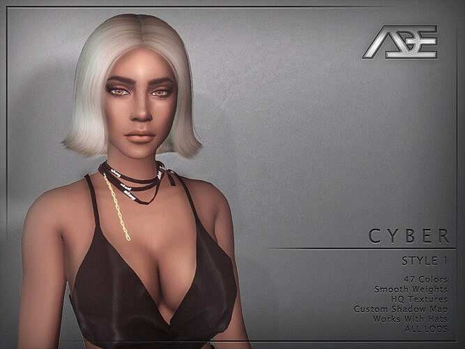 Cyber Style 1 Hair By Ade_darma