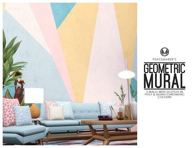 Geometric Murals – 2 Walls