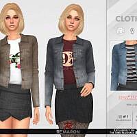 F Denim Jacket 02 By Remaron