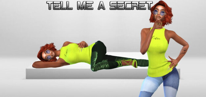 Sims 4 Tell me a Secret / All Fixed Up Collections at Teenageeaglerunner