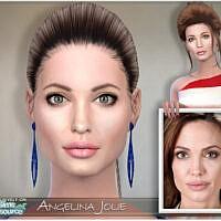Sim Angelina Jolie By Bakalia