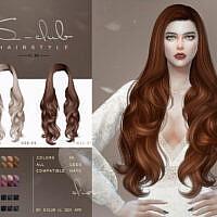 Curly Long Hair N80 By S-club Ll