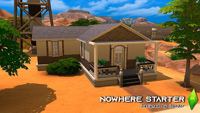Nowhere Starter Home By Isandor