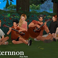 Afternnon (pose Pack) By Beto_ae0