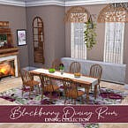 Blackberry Dining Room By Neinahpets