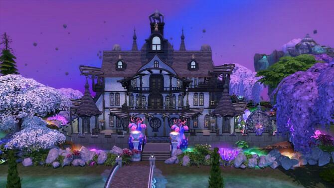 Sims 4 Realm of Magic School 50x40 by bradybrad7 at Mod The Sims 4