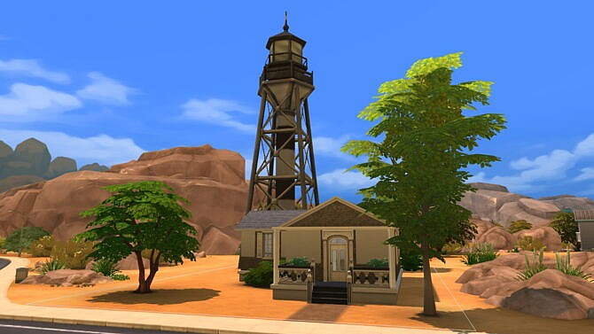 Sims 4 Nowhere starter home by iSandor at Mod The Sims 4