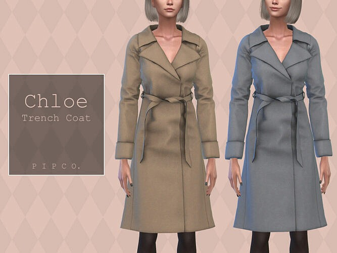 Chloe Trench Coat By Pipco