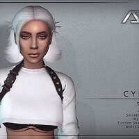 Cyber Style 4 (hairstyle) By Ade_darma