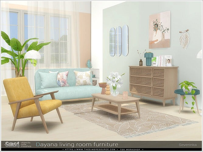 Dayana Living Room Furniture By Severinka