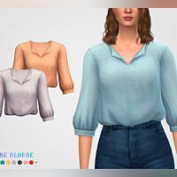 Phoebe Blouse By Pixelette