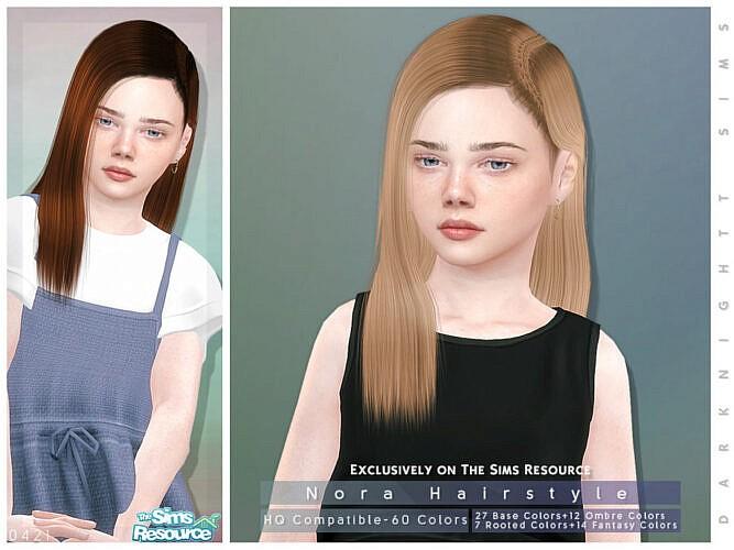 Nora Hairstyle [child] By Darknightt