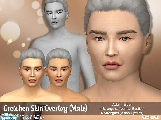 Gretchen Skin Overlay Male