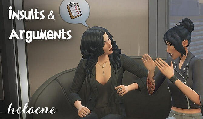 Insults & Arguments Pack By Helaene