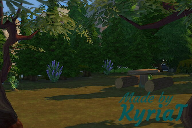 Sims 4 The Hideaway lot at KyriaT's Sims 4 World