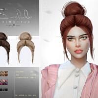 Bun Hair N79 By S-club Ll