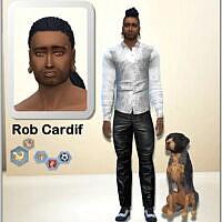 Rob Cardif & Barkley By Simmy