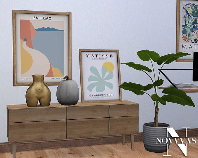Sims 4 MADEIRA LIVING ROOM at Novvvas
