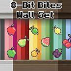 8bitbites Pixel Art Fruit Wallpaper Set By Genericfan