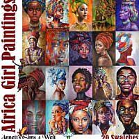 Africa Girl Paintings