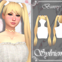 Bunny Hairstyle By Sylviemy