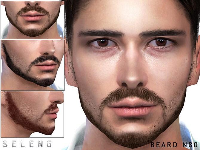 Sims 4 Beard N80 by Seleng at TSR