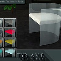 Acrylic Dining Chair By Tyravb