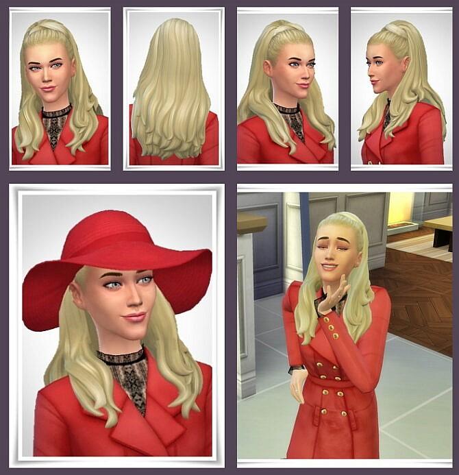 Sims 4 Ursula Hair at Birksches Sims Blog