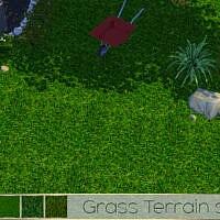 Grass Terrain Set By Theeaax